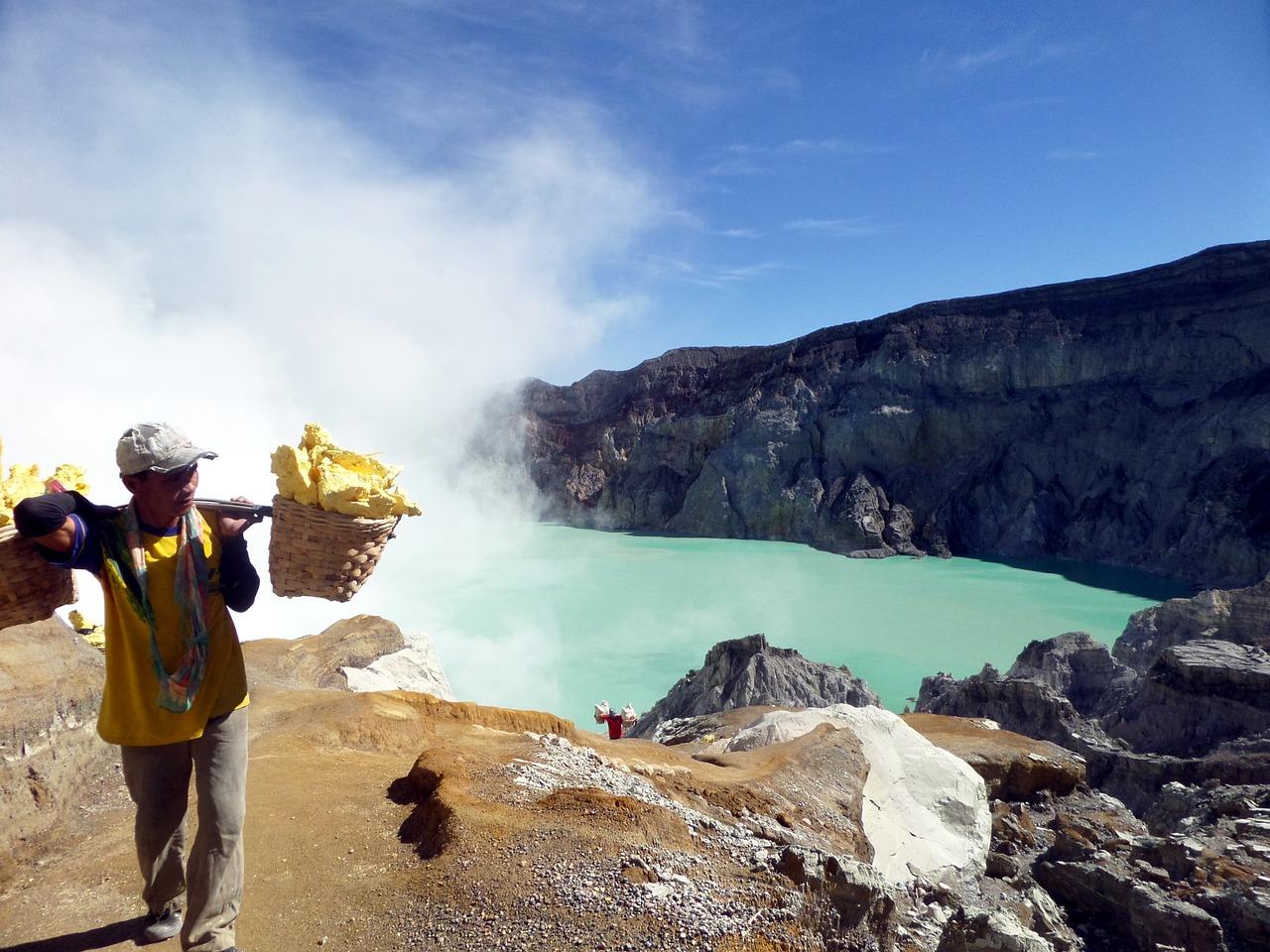 wulkan Ijen indonezja