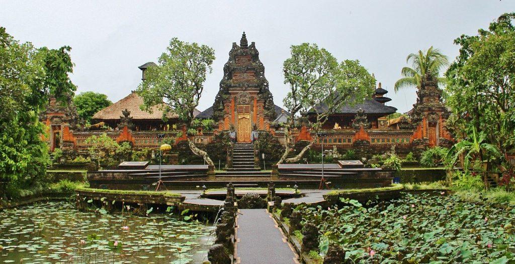 Ubud świątynia